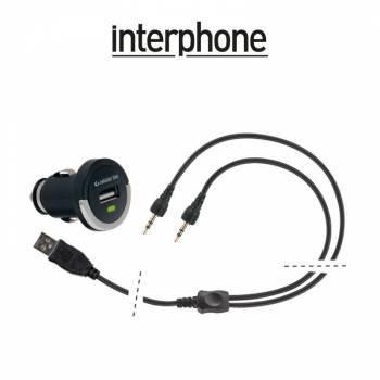 Interphone -latauspistoke, USB Cig Plug