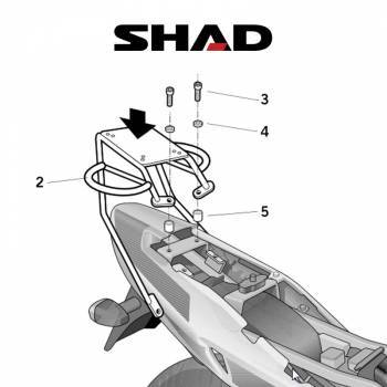 Shad -peräteline, Suzuki GS500 01-11