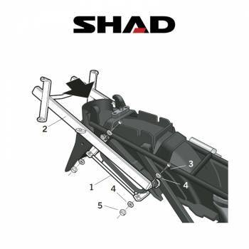 Shad -telinesarja, Suzuki GSX750F 03-08