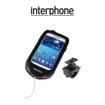 Interphone -teline+laukku tankokiinnityksellä, Samsung Galaxy S4