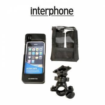 Interphone -teline+laukku tankokiinnityksellä, iPhone 3G/3GS