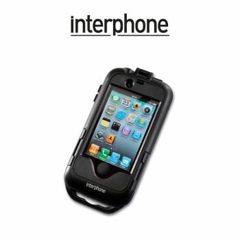 Interphone -teline+laukku runkokiinnityksellä, iPhone 4