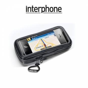 Interphone -teline+laukku runkokiinnityksellä, älypuhelin