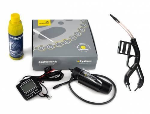 Scottoiler -ketjunvoitelija, eSystem + Scorpion Dual Injector (0-30C)