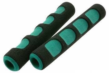 STR8 -pehmikepari vivuille, musta/vihreä