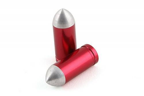 STR8 -venttiilinhattupari, Bullet, punainen