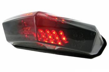 STR8 -takalyhty vilkuilla, Derbi Senda, tumma LED
