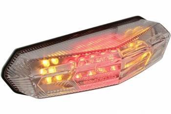 STR8 -takalyhty vilkuilla, Derbi Senda, kirkas LED