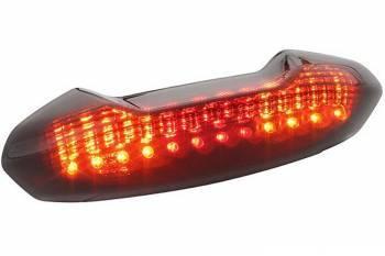 STR8 -takalyhty vilkuilla, NRG Power, tumma LED