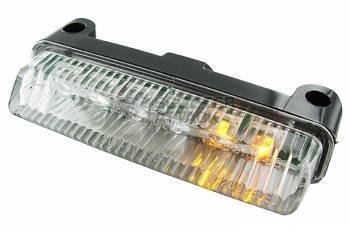STR8 -takalyhty vilkuilla, LED, lipan alle, kirkas