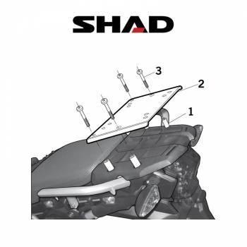 Shad -peräteline, Triumph Tiger 800