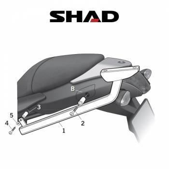 Shad -peräteline, BMW R1200R 09-11