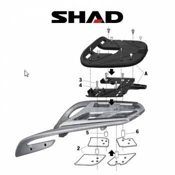 Shad -peräteline, BMW R1200RT 09-11