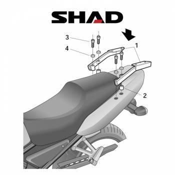 Shad -peräteline, Yamaha FZS1000 06-11