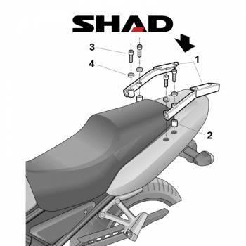 Shad -peräteline, Yamaha FZS600 01-03