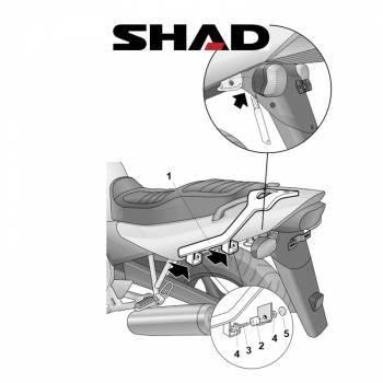 Shad -peräteline, Yamaha XJ600 96-05