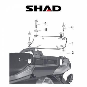 Shad -peräteline, Yamaha XT660Z 08-11