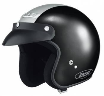 IXS HX105 -kypärä, musta/hopea