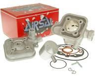 Airsal Sport -sylinterisarja 70cc, Peugeot (vaaka, vesi)