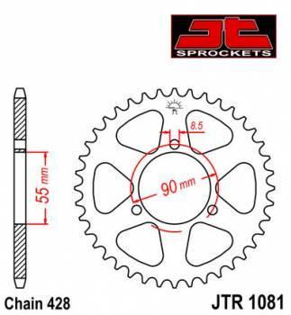 JT -hammasratas, taka, JTR 1081.46