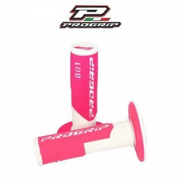 ProGrip 801 -kahvakumit, valkoinen/pinkki
