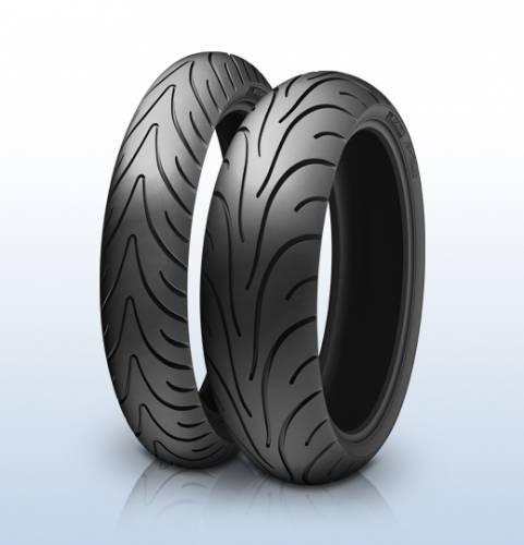 Michelin Pilot Road 2 -paketti, 120/70ZR17 + 180/55ZR17