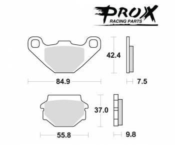 ProX -jarrupalat, sinter offroad, 37.105002