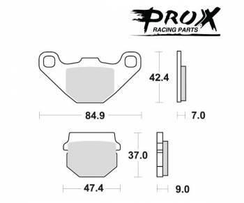ProX -jarrupalat, sinter offroad, 37.106002