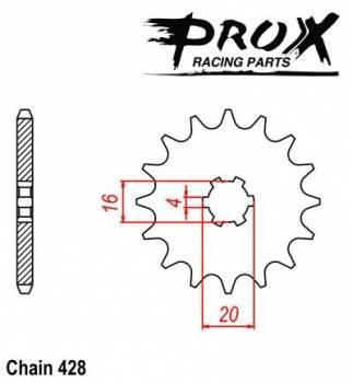ProX -hammasratas, etu, 07.FS21093-13
