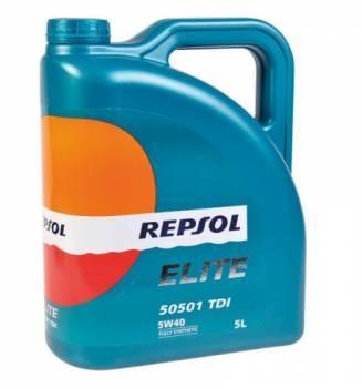 Repsol Elite 5051 TDI, 4T-öljy 5W-40, 5L