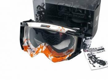 Stage6 HD -ajolasit, oranssi/valkoinen (kirkas)