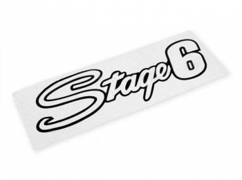 Stage6 -tarra, 20x6cm, musta