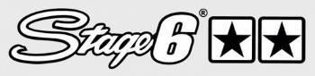 Stage6 -tarra, 25x4.5cm, valkoinen