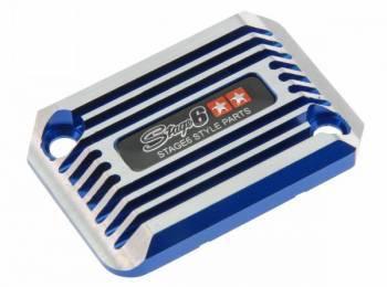 Stage6 CNC -jarrunestesäiliön kansi, Nitro/Aerox, sininen
