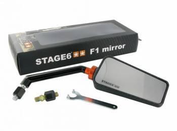 Stage6 -yleispeili, F1 oikea, M8, carbon (matta)