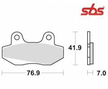 SBS -jarrupalat, ceramic, 103HF (551HF)