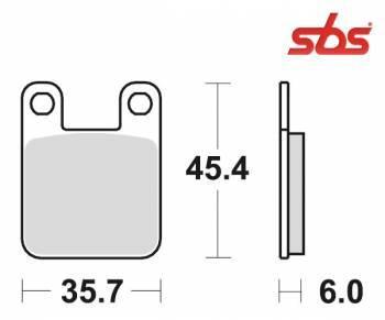 SBS -jarrupalat, ceramic, 105HF (559HF)
