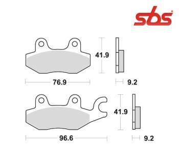 SBS -jarrupalat, ceramic, 119HF (688HF)