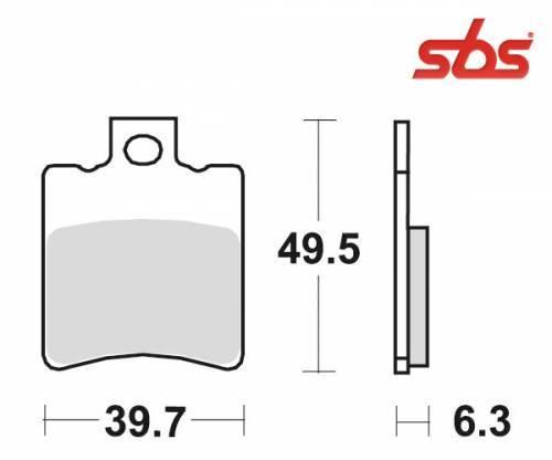 SBS -jarrupalat, ceramic, 123HF (697HF)
