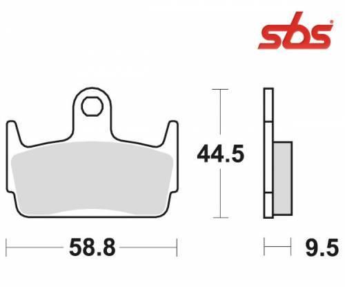 SBS -jarrupalat, ceramic, 129HF (710HF)