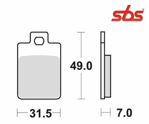 SBS -jarrupalat, ceramic, 130HF (712HF)