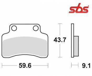SBS -jarrupalat, ceramic, 141HF (723HF)