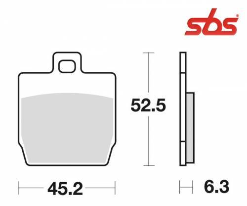 SBS -jarrupalat, ceramic, 145HF (731HF)