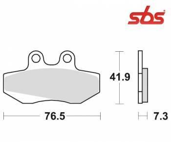 SBS -jarrupalat, ceramic, 148HF (652HF)