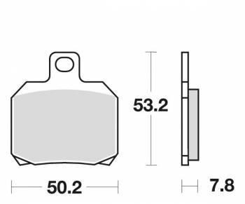 SBS -jarrupalat, ceramic, 157HF