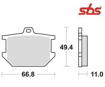 SBS -jarrupalat, ceramic taka, 507LF