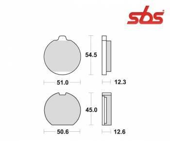 SBS -jarrupalat, ceramic taka, 514LF