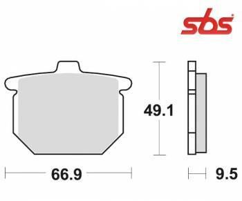 SBS -jarrupalat, ceramic taka, 517LF
