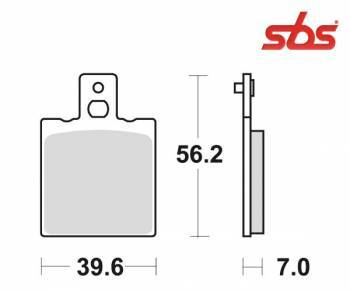 SBS -jarrupalat, ceramic, 519HF