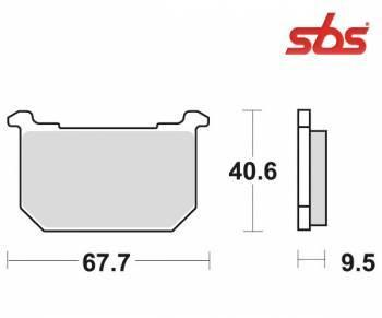 SBS -jarrupalat, ceramic taka, 540LF